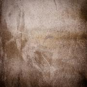 sepia grunge background wall - stock photo
