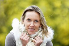 Stock Photo of outdoor woman
