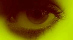 Stock Video Footage of LoopNeo VJ Loops HD 1920X1080 - Eyes 015