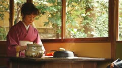 Tea ceremony, #2 Stock Footage