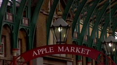 Covent Garden City of London  Stock Footage