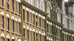 Kensington, Apartments, London Stock Footage