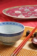 Asian tableware Stock Photos