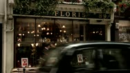 Stock Video Footage of Flower Shop, City of London Westminster St. James Street