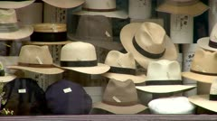 Hats, Men's Hats, City of London Westminster St. James Street Men's Fashion,  Stock Footage