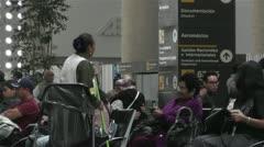 Benito Juarez Airport Domestic Terminal Mexico City 1 Stock Footage