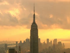 Empire State Building Time Lapse - stock footage