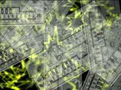 LoopNeo VJ Loops SD 640X480 - Roland 303 Particles Stock Footage