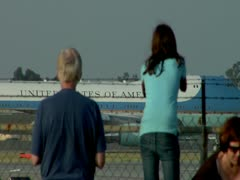 Air Force One Stock Footage