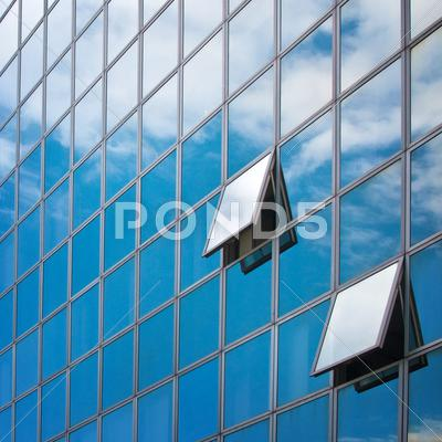 Stock photo of office bulding detail
