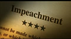 Impeachment Stock Footage