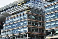 Potsdamer platz buildings Stock Photos