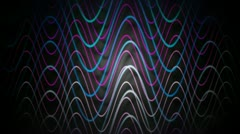 Wave cable line Stock Footage