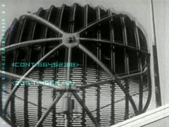 Rotate vintage radar & panel controls Stock Footage