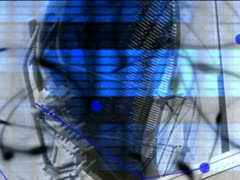 Radar & Control pannel - VJ Loops SD 640X480 Stock Footage