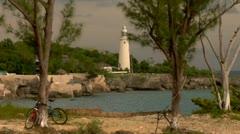LIghthouse Negril Jamaica Stock Footage
