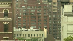 New York City Buildings Mid-town Manhattan Upper East Side Stock Footage
