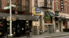 Nolita, Mulberry Spring Street Stock Footage