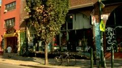 Williamsburg, Brooklyn Bedford Street Stock Footage