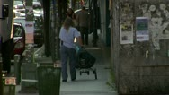 Stock Video Footage of Brooklyn Postal Delivery Woman