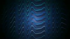 Stripe blue wave Stock Footage