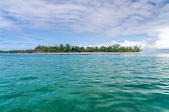 seascape of sainte marie island - stock photo