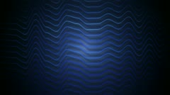 Blue stripes distortion Stock Footage