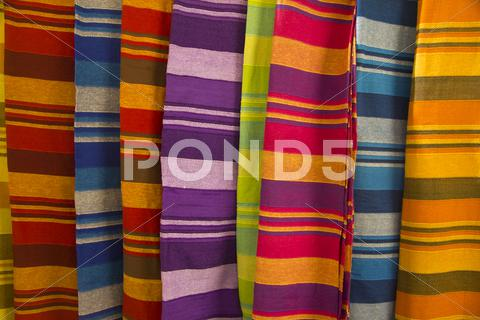 Stock photo of Striped cloth