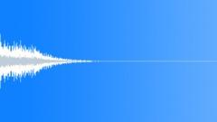 Metallic zippy hit 2 - sound effect