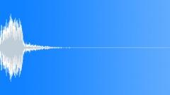 Metallic zippy hit - sound effect