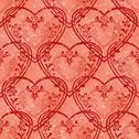 Valentine heart, seamless Stock Illustration