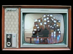 Tv Strobe SD 640X480 - Vj Loop Stock Footage