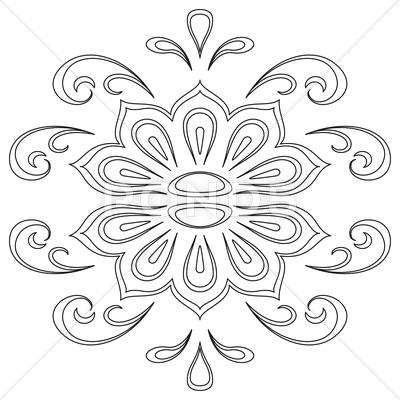 Stock Illustration of Abstract contour pattern