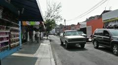 Oaxaca Crucecita Town Mexico 17 Stock Footage