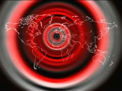 Mapa Mundi - world map Vj Loops Stock Footage
