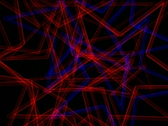 Vj Loops Star colors Vortex Stock Footage
