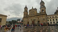 Stock Video Footage of Plaza de Bolivar