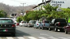 Oaxaca Crucecita Town Mexico 25 Stock Footage