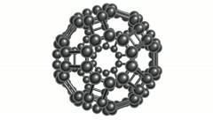 Molecular spherical lattice Stock Footage