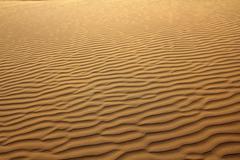 Sand in desert Stock Photos