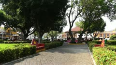 Oaxaca Crucecita Town Mexico 22 Stock Footage