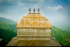 Kumbhalgarh fort dome Stock Photos