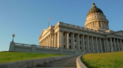 Utah State Capitol - stock footage