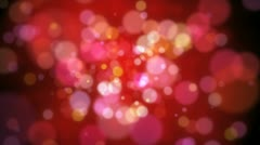 Spots red Stock Footage