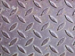 rusty metal grate background - stock photo