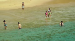 Tropical Paradise in Mexico 12 beach - stock footage