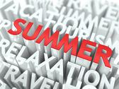 Summer Concept. Stock Illustration
