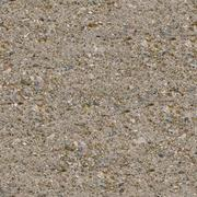Brown Plastered Wall Seamless Texture. - stock photo