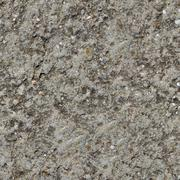 Grey Plastered Wall Seamless Texture. - stock photo