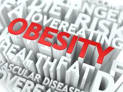 Obesity Concept. - stock illustration